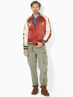 Polo Ralph Lauren  Satin Reversible Jacket