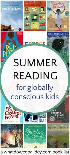 6th Grade Summer Reading List For Globally Conscious Kids