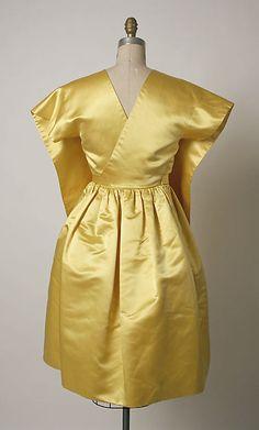 House of Balenciaga | Cocktail dress | French | ca. 1961