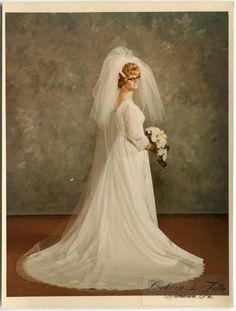 1960s Vintage  Bride