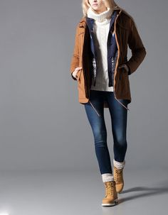 Timberland Boots, an American Icon ~ Fashion & Style Timbs Outfits, Mode Outfits, Casual Outfits, Timberland Outfits Women, Timberland Boots Outfit, Timberlands, Fall Winter Outfits, Winter Fashion, Mode Jeans
