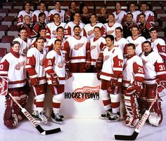 1997-1998 Stanley Cup Champion Detroit Red Wings