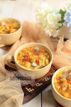 Just Try & Taste: Resep Es Rujak Buah & Nostalgia SD