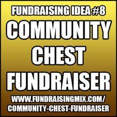 People pay one time to add an item to a collection and also to take an item home with them! #fundraiser #fundraising #community #chest