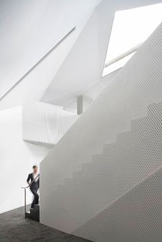 Steven Holl - Sliced porosity block stair