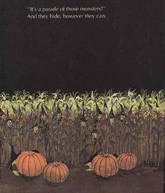 Witches in a cornfield