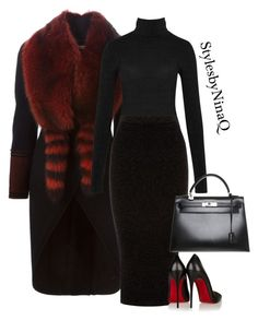 Designer Clothes, Shoes & Bags for Women Blazer Outfits, Sexy Outfits, Beautiful Black Dresses, Wolford, Professional Outfits, Office Outfits, Cloth Bags, Polyvore Outfits, Warehouse
