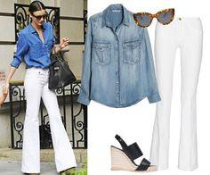 #HowToWearIt: The Timeless Denim Shirt from InStyle.com