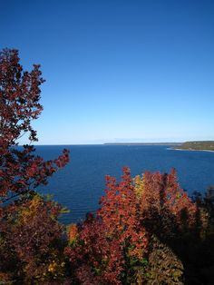 Fall colors in Door County WI