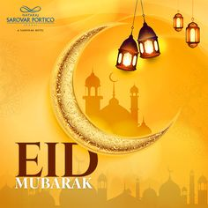 May your life be filled with happiness and blessings. Nataraj Sarovar Portico Jhansi wishes everyone a happy Eid al-Adha. Eid Al Adha 2019, Navratri Wishes, Happy Eid Al Adha, Eid Mubarak, Blessings, Happiness, Restaurant, Mirror, Life