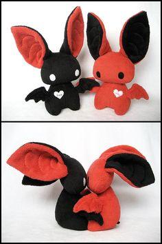 Lovebats by melkatsa.deviantart.com on @deviantART