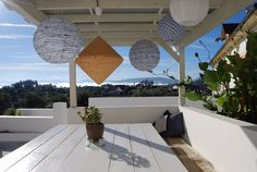Dining with a view on the Keri Lincoln Primal Yoga Retreat in Portugal