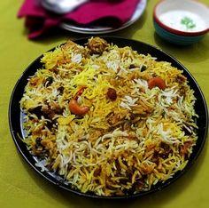 Famous Hyderabadi -style #chicken #biryani recipe