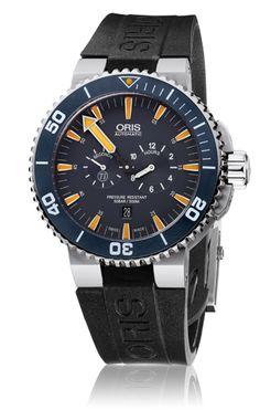Oris Tubbataha Limited Edition - 01 749 7663 7185-Set RS - Oris Aquis - Oris - Purely mechanical Swiss watches.