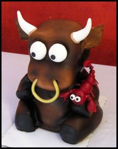 Funny cake buffalo and ¿lobster? LOL loved it