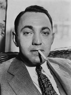 Dutch Schultz, Born Arthur Flegenheimer Canvas Print / Canvas Art by Everett