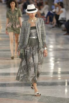 See all the looks from Chanel Cruise 2017 held in Havana, Cuba, May 3.