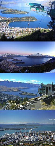 Visit Queenstown and Auckland New Zealand. Do bungee jumping at the SkyTower in Auckland, and bungee jumping in Queenstown.