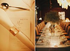 Beautiful dinner deco for dinner Photo by Terralogical. www.theweddingnotebook.com