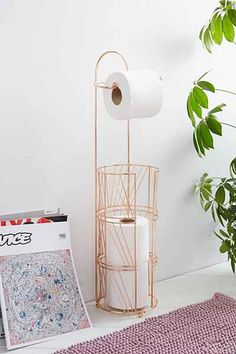 Copper Toilet Paper Holder - Urban Outfitters - $29