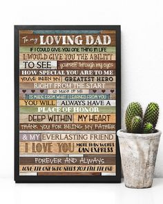 Perfect Gifts To My Husband Poster Great Gifts For Wife, Perfect Gift For Dad, Love Gifts, My First Teacher, Fathers Day Poster, Grandpa Birthday, Life Poster, Love Dad, Gsm Paper