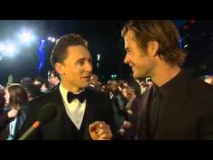 Tom Hiddleston Becomes a Hemsworth at Thor Premiere   Video Library   Action Reporter Media