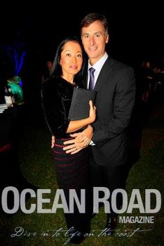 Yasu & Greg Betts - Currumbin Wildlife Hospital Foundation Annual Gala Dinner — at Jupiters Gold Coast.
