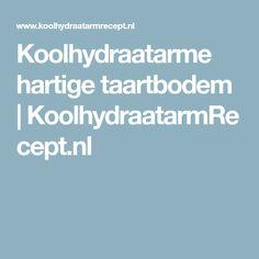 Koolhydraatarme hartige taartbodem | KoolhydraatarmRecept.nl