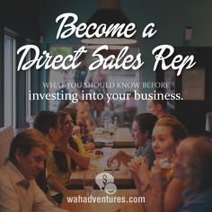 Before you invest into starting your direct sales home business, you need to know these things!