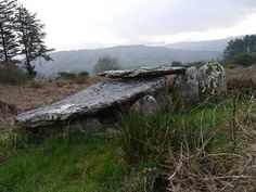 Wedge Tomb at Keamcorravooly, Co Cork