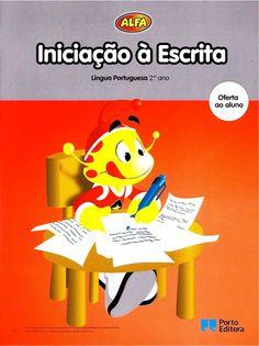 Iniciação à escrita língua portugesa 2   alfa - porto editora by João Freire via slideshare