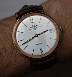 Ball Trainmaster Manufacture Watch Hands-On