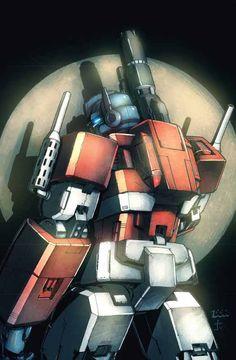 Spotlight On Optimus Prime. #Transformers #Autobots #Decepticons
