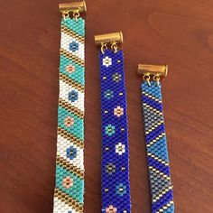 #bracelet #boncuk #miyuki #peyote #peyotebracelet #bileklik #handmade