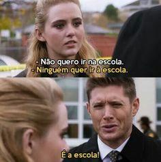 Dean Winchester, Sam E Dean, Tv Supernatural, Tv Shows, Humor, Twitter, Anime, Supernatural Wallpaper, Funny Movie Quotes