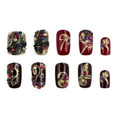 Crystal Pixie EXOTIC EAST - SI te consideras una amante de la cultura de Oriente, aqui tienes algunas ideas para decorar tus uñas.