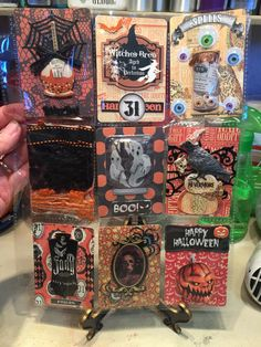 Pocket letter for a Halloween swap