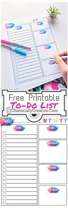 The Number 1 Tool To Get Things Done-To Do List - Chaotically Creative