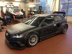 Munnich Motorsport unveils the Audi A3 it is developing for the 2014 World Rallycross Championship.