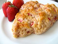 The Double Dipped Life: Strawberry Scones