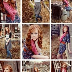Girls Senior Picture hair Ideas  | cute senior portrait ideas for girls | Outfit, ... | Photography Idea ...