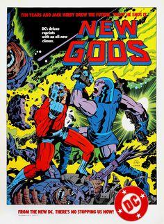 PIPOCA COM BACON - Artes Conceituais de Argo por Jack Kirby - Jack Kirby New_Gods_ DC #PipocaComBacon