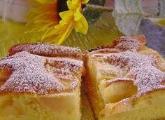 Apfelkuchen – schnell und fein - Chefnickrecipes Apple Cake Recipes, Easy Cake Recipes, Fruit Recipes, Easy Desserts, Sweet Recipes, Baking Recipes, Dessert Recipes, Chef Cake, German Baking