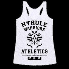 Hyrule Warriors Athletics Tank