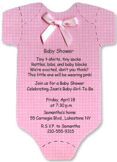 baby shower invitations for girls google search