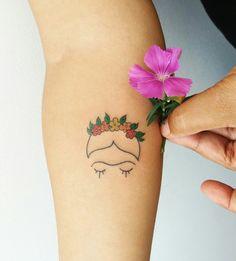 Frida tattoo ORIGINAL