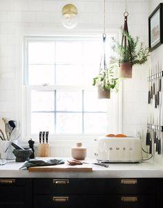 white smeg toaster. / sfgirlbybay