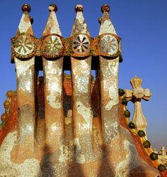Casa Batllo by Antoni Gaudi in Barcelona