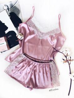 Sewing Lingerie, Pink Lingerie, Pretty Lingerie, Beautiful Lingerie, Cute Sleepwear, Lingerie Sleepwear, Nightwear, Pyjamas, Pretty Outfits