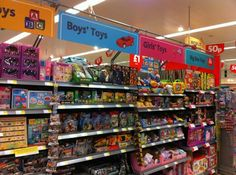 Supermarket Design | Toys & Games Areas | Retail Design | Shop Interiors |